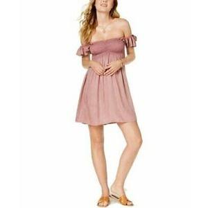 RAVIYA Blush Boho Mini Dress SM NWT